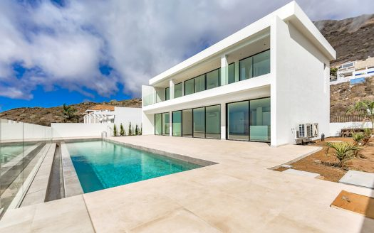 Stylish villa in Roque del Conde