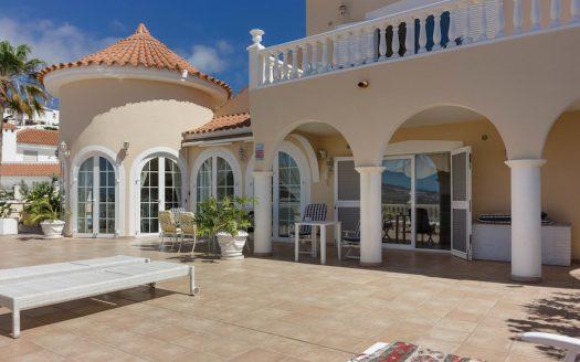 Villa con vista panorámica