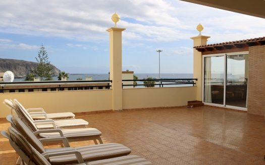 Apartment in Los Cristianos with a view